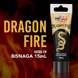 Excitante Unissex Dragon Fire em Bisnaga 15ml